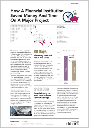 How a Financial Institution Saved Money & Time on a Major Project